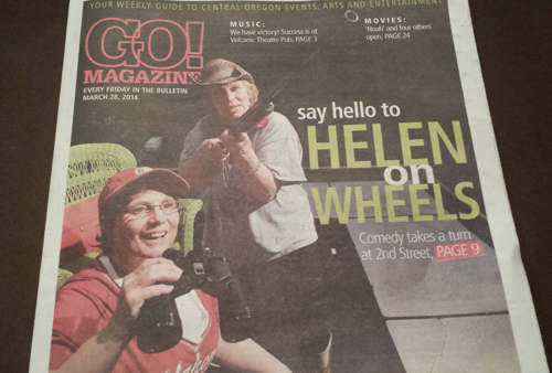 Helen On Wheels